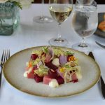 Queen's Landing Goat Cheese and Beet Salad