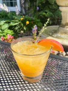 Peachy Keen Cocktail available at Inn On The Twenty Restaurant